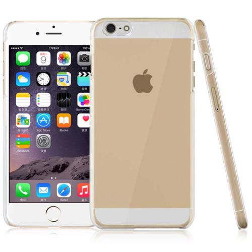 CaseUp Kristal Şefffaf iPhone 6 Plus (5.5) kılıf Kırılmaz Cam