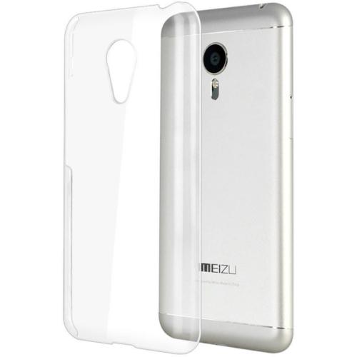 CaseUp Meizu MX5 Kılıf Kristal Şeffaf Kırılmaz Cam