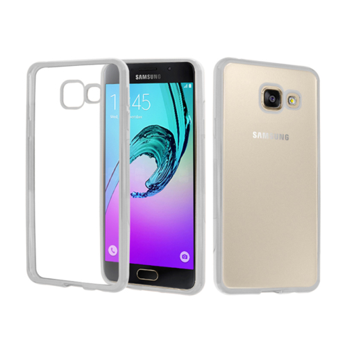 CaseUp Samsung Galaxy A5 2016 Kılıf Lazer Kesim Silikon Kırılmaz Cam