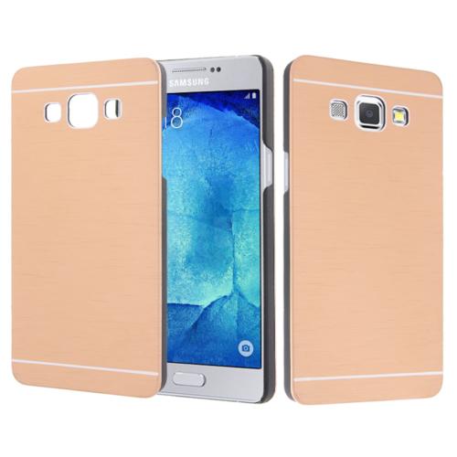 CaseUp Samsung Galaxy A8 Kılıf Metal Korumalı Kırılmaz Cam