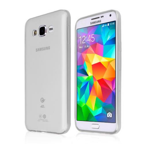CaseUp Samsung Galaxy Grand Prime Kılıf İnce Silikon Kırılmaz Cam