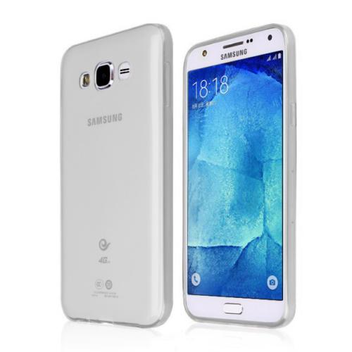 CaseUp Samsung Galaxy J5 Kılıf İnce Silikon Kırılmaz Cam