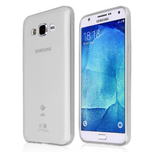 CaseUp Samsung Galaxy J7 Kılıf İnce Silikon Kırılmaz Cam