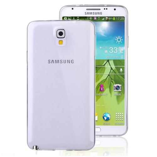 CaseUp Samsung Galaxy Note 3 Neo clear Soft Şeffaf kılıf Kırılmaz Cam