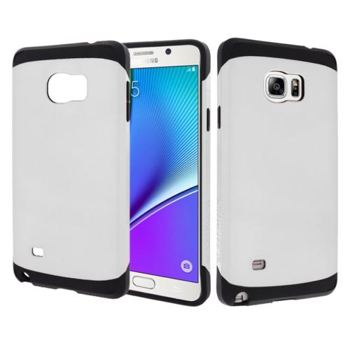 CaseUp Samsung Galaxy Note 5 Kılıf Çift Katmanlı Tam Koruma Kırılmaz Cam