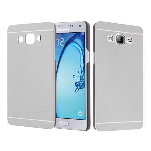 CaseUp Samsung Galaxy On5 Kılıf Metal Korumalı Kırılmaz Cam