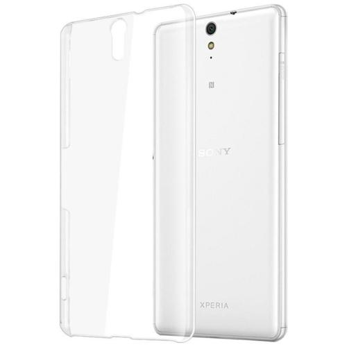 CaseUp Sony XPeria C5 Ultra Kılıf Kristal Şeffaf Kırılmaz Cam