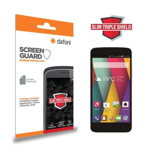 Dafoni General Mobile Discovery 2 Mini Slim Triple Shield Ekran Koruyucu