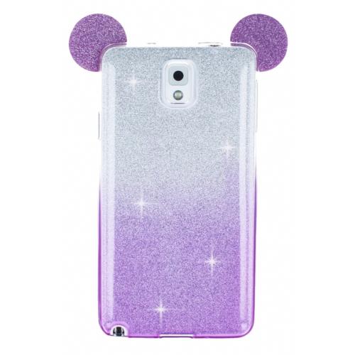 Eiroo Ear Sheenful Samsung N9000 Galaxy Note 3 Silikon Kılıf