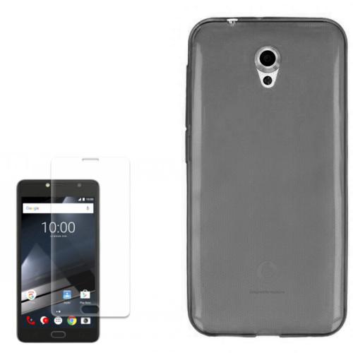Gpack Vodafone Smart Style 7 Kılıf 0.2Mm Silikon + Kırılmaz Cam