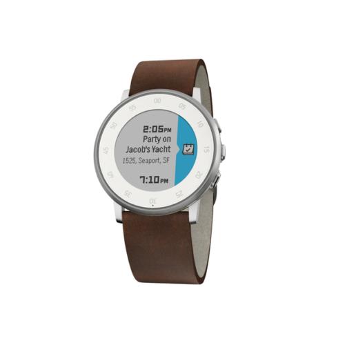 Pebble Time Round Akıllı Saat Gümüş 20 mm