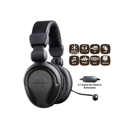 Goldmaster Hp-51 5.1 Titreşimli Kulaklık