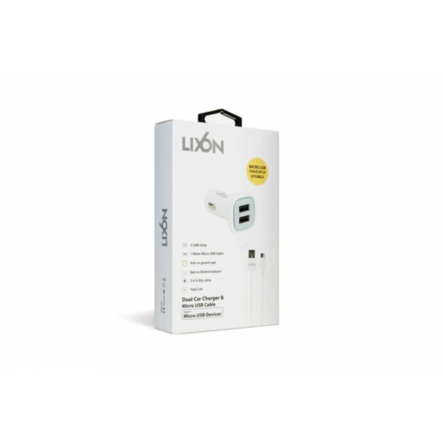 Lixon Araç Şarjlı Micro Usb Kablolu 1 M Lixon
