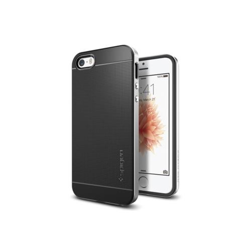 Spigen iPhone Se/5S/5 Kılıf Neo Hybrid Satin Silver