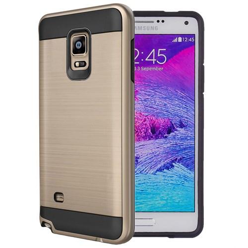 Case 4U Samsung Galaxy Note 4 Verus Korumalı Kapak Altın