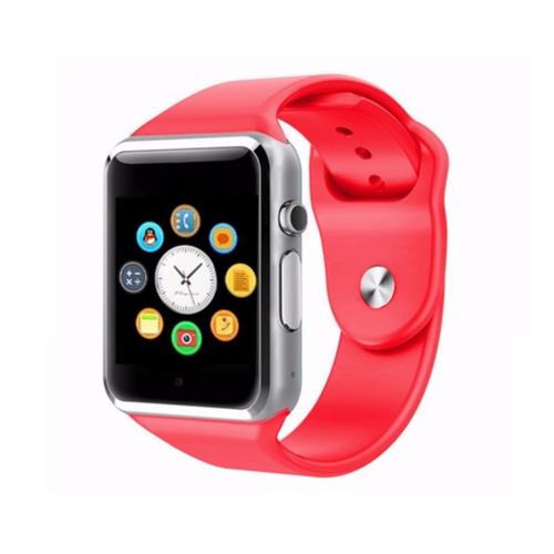 Case 4U Samsung iPhone Sony LG HTC A1 Akıllı Saat Kırmızı (IOS ve Android Uyumlu)