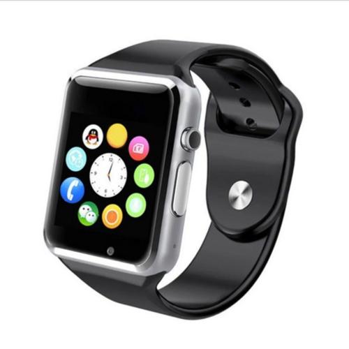 Case 4U Samsung iPhone Sony LG HTC A1 Akıllı Saat Siyah (IOS ve Android Uyumlu)