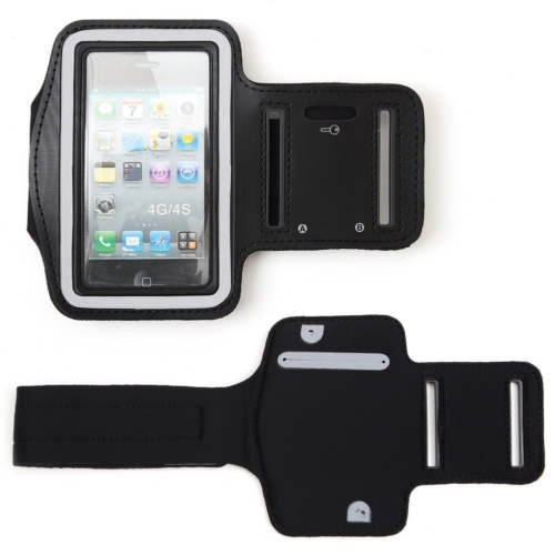 Case 4U iPhone 4/4S Kol bandı Siyah