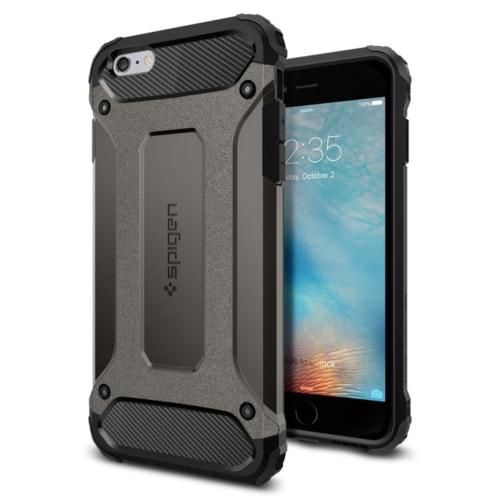 Spigen Sgp iPhone 6S Plus Kılıf Tough Armor Tech Gun Metal - SGP11746