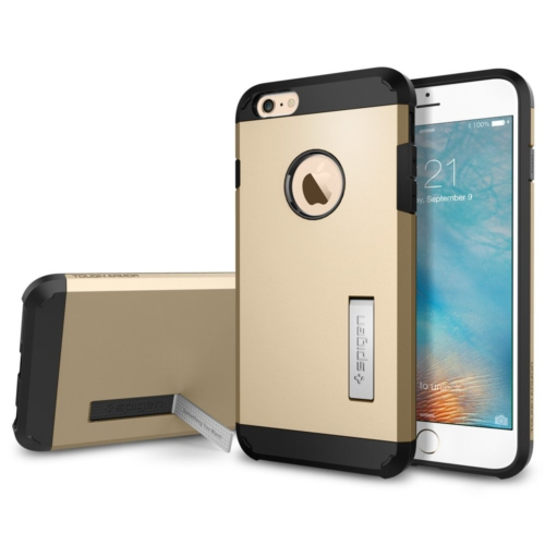 Spigen iPhone 6s Plus/6 Plus Kılıf Tough Armor Champagne Gold - SGP11659