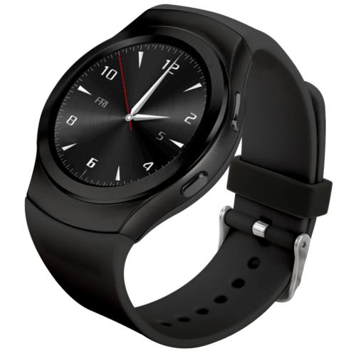 Case 4U G3 Bluetooth Akıllı Saat Siyah (iOS & Android)