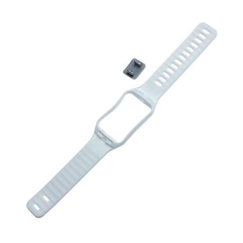 Case 4u Samsung Galaxy Gear S SM R750 Silikon Kayış Beyaz