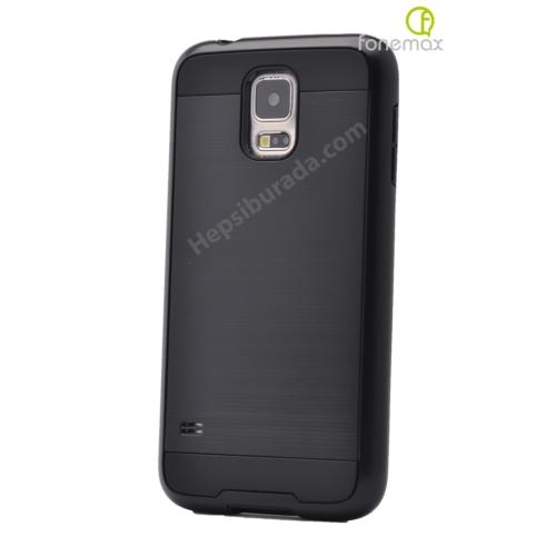 Case 4U Samsung Galaxy Note 4 Verus Korumalı Kapak Siyah