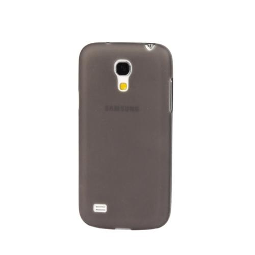 Case 4U Samsung i9190 Galaxy S4 Mini Ultra ince 0,3 mm Siyah