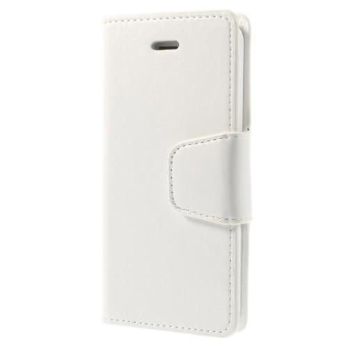 Case 4U iPhone 5/5s Beyaz Kapaklı Cüzdan Kılıf