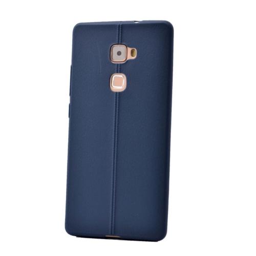 Case 4U Huawei Mate S Desenli Silikon Kılıf Lacivert