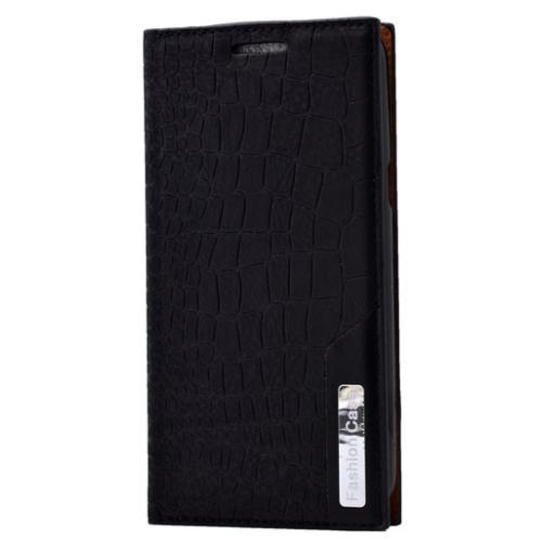 Case 4U Samsung Galaxy J5 Rock Case Kapaklı Kılıf Siyah