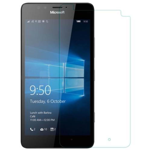 Case 4U Microsoft Lumia 950 Kırılmaz Cam Ekran Koruyucu