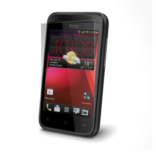 Case 4U HTC Desire 200 Ekran Koruyucu ( Ultra Şeffaf Parmak izi bırakmaz )