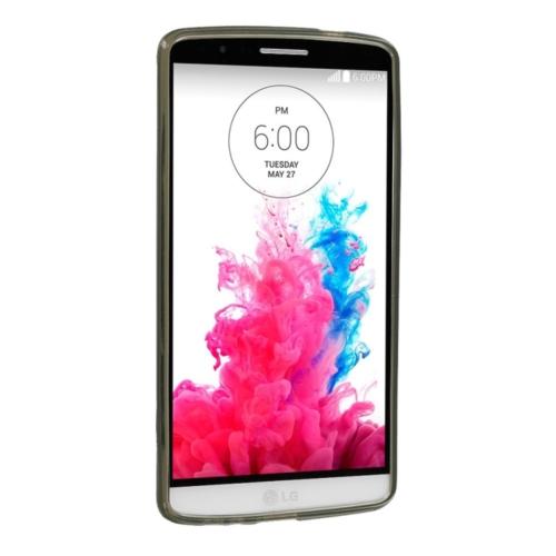 Case 4U LG G3 Soft Silikon Kılıf Füme