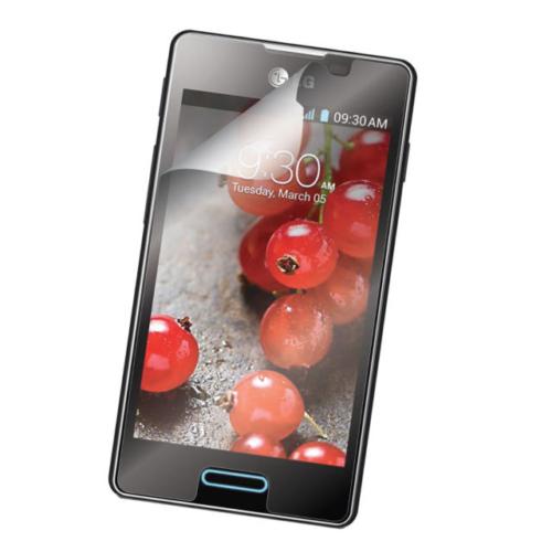 Case 4U LG L5 Ekran Koruyucu ( Ultra Şeffaf Parmak izi bırakmaz )