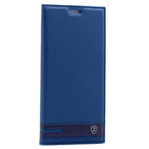 Case 4U Sony Xperia Z5 Compact Gizli Mıknatıslı Kapaklı Kılıf Lacivert