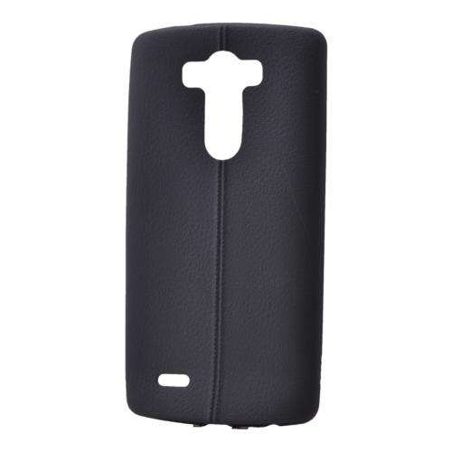 Case 4U Lg G4c Desenli Silikon Kılıf Siyah