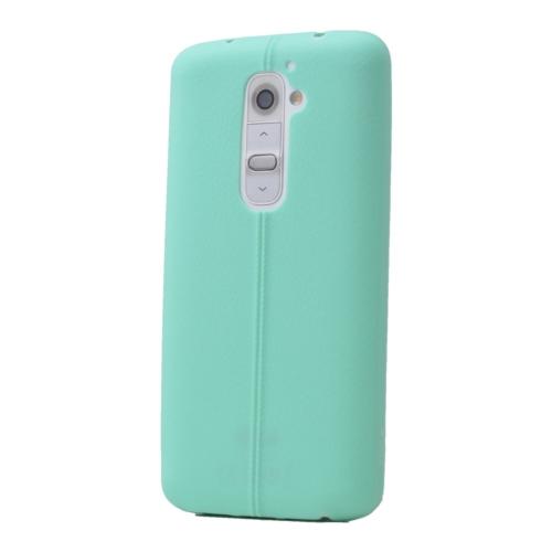 Case 4U Lg G2 Desenli Silikon Kılıf Yeşil