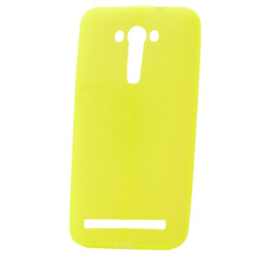 """Case 4U Asus Zenfone 2 Laser 5""""(Ze500kl) Desenli Silikon Kılıf Sarı"""