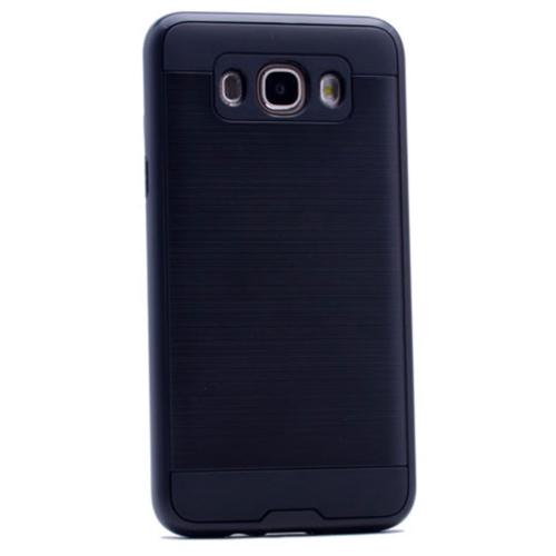 Case 4U Samsung Galaxy J7 Verus Korumalı Kapak Siyah