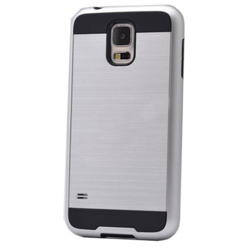 Case 4U Samsung Galaxy S4 Verus Korumalı Kapak Gümüş