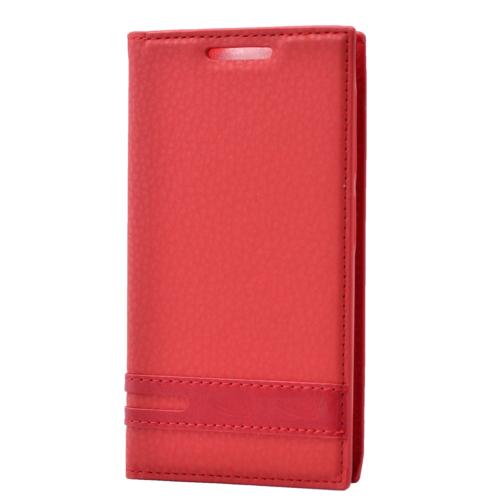 Case 4U Lenovo A7000 Gizli Mıknatıslı Kılıf Kırmızı