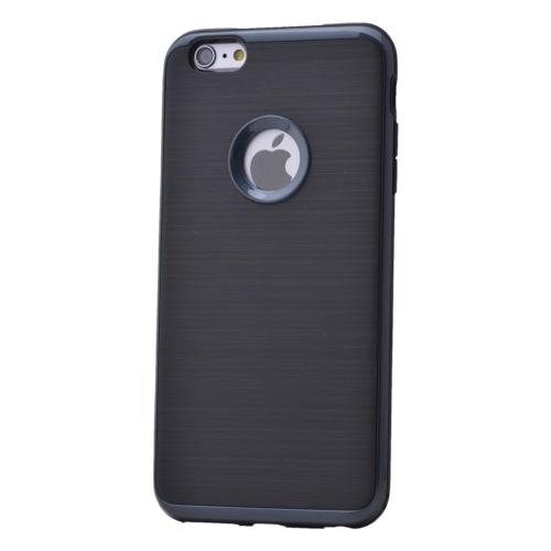 Case 4U Apple İphone 6 Plus Korumalı Arka Kapak Parlak Siyah