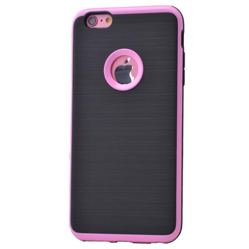 Case 4U Apple İphone 6S Plus Korumalı Arka Kapak Pembe