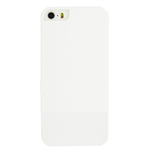 Case 4U Apple İphone 5 Sert Arka Kapak Beyaz