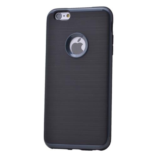 Case 4U Apple İphone 6 Plus Korumalı Arka Kapak Siyah