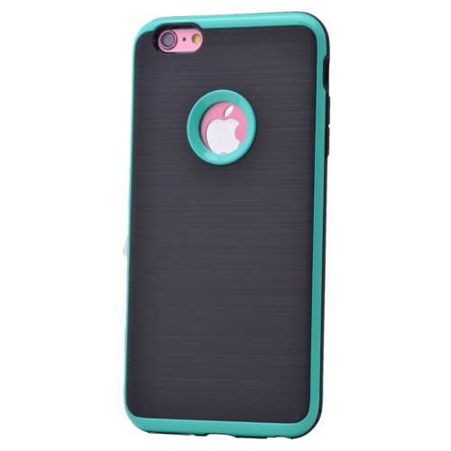 Case 4U Apple İphone 6S Korumalı Arka Kapak Mavi