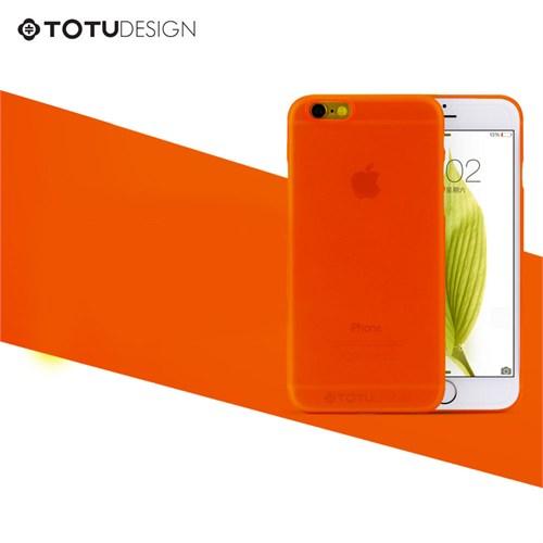 TotuDesign Apple iPhone 6 Plus Ultra İnce Kılıf Turuncu Zero Series Apple