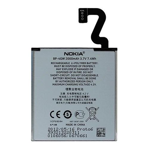 Nokia Lumia 920 Orjinal Batarya Pil 2000Mah Kutusuz