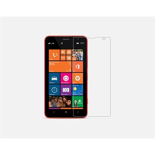 Mili Nokıa Lumia 1320 Kırılmaz Cam Ekran 0.33 2.5D